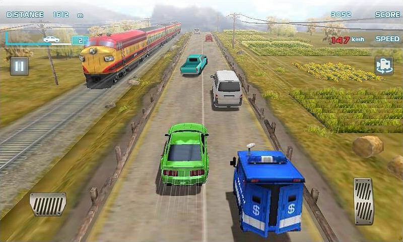Turbo Driving Racing 3D MOD poster 2