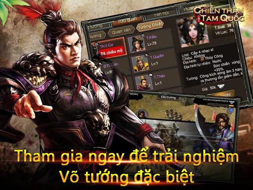 Chiu1ebfn Thu1ea7n Tam Quu1ed1c-Tranh Bu00e1  screenshots 7