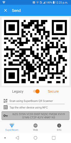 SuperBeam | WiFi Direct Shareのおすすめ画像4
