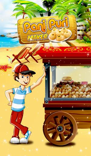 Panipuri Maker Indian Cooking Game screenshots 11