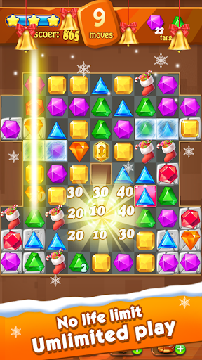Jewels Classic - Jewel Crush Legend 3.2.3 screenshots 9