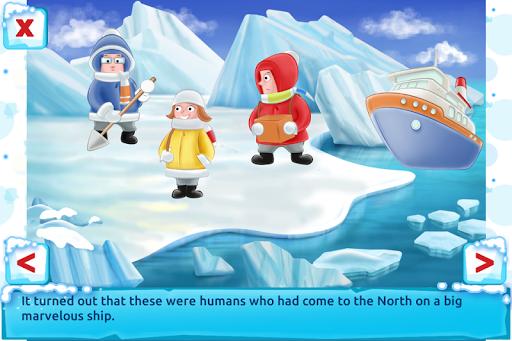 Polar Bear Cub - Fairy Tale with Games Free  screenshots 3