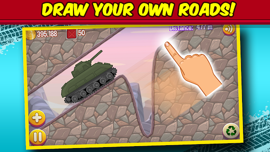 Road Draw: Climb Your Own Hills Screenshot