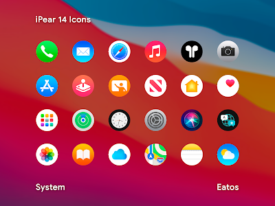 iPear 14 - Round Icon Pack 1.1.2 (Patched)