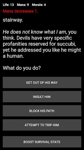 Demon's Choice: Choices Game RPG 4.6 screenshots 6