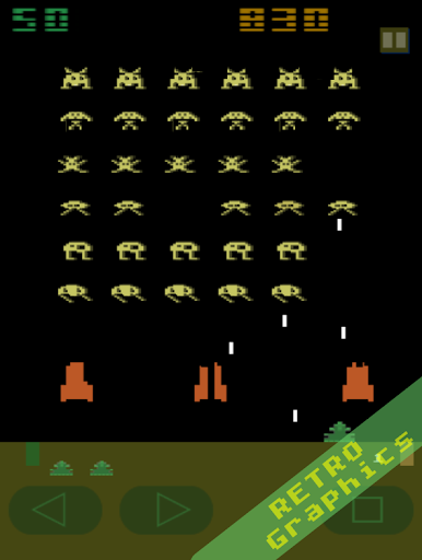 Télécharger Classic Invaders - Jeu de tirs des années 80 apk mod screenshots 4