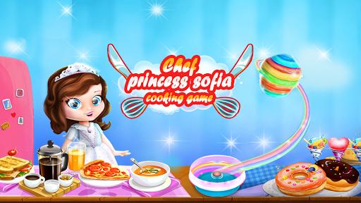 👩🍳 Princess sofia : Cooking Games for Girls 1.0 screenshots 1