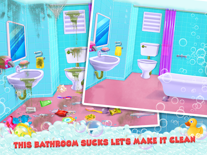 Keep Your House Clean - Girls Home Cleanup Game 1.2.60 Screenshots 12