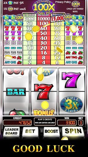 Slot Machine: Triple Hundred Times Pay Free Slot  screenshots 12