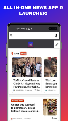 News Home - Local & World News on Your Home Screen android2mod screenshots 7