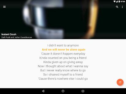 QuickLyric - Instant Lyrics 3.9.0c Screenshots 10