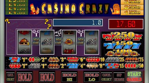 Casino Crazy Club UK Fruit Machine Simulation 9.0 2