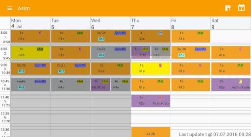 Untis Mobile 4.9.1 Screenshots 7