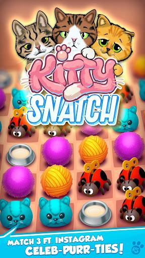 Kitty Snatch - Match 3 ft. Cats of Instagram game 1.0.88 screenshots 1