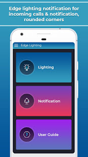 Edge Lighting & Edge Color Notification