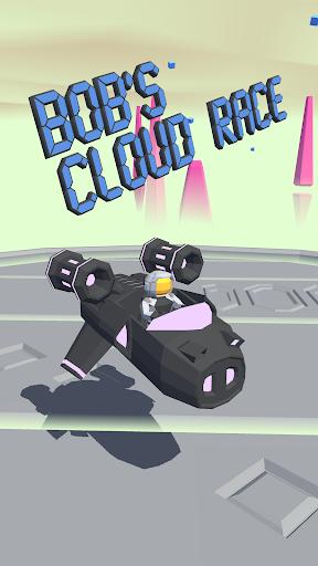 bob's cloud race: casual low poly game screenshot 1