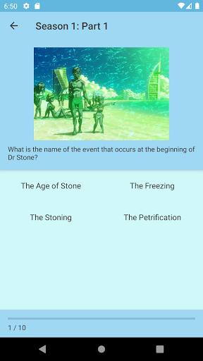Dr Stone Trivia 1.4 screenshots 2
