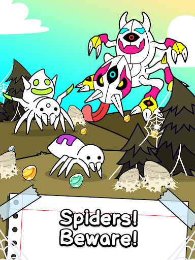 Spider Evolution - Merge & Create Mutant Bugs screenshots 9