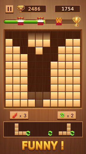 Wood Block - Classic Block Puzzle Game 1.0.7 screenshots 2