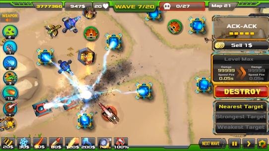 Tower Defense: Alien War TD 1.3.5 Mod APK (Unlock All) 1