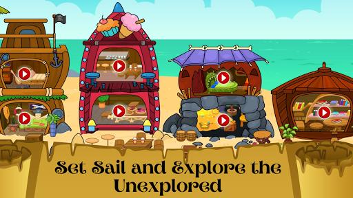 My Pirate Town - Sea Treasure Island Quest Games 1.4 Screenshots 6