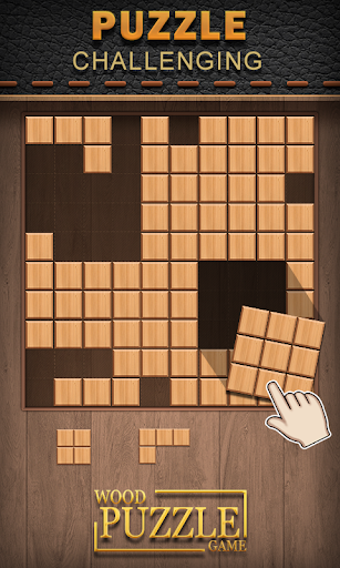 wood puzzle mania -block puzzle wood screenshot 3