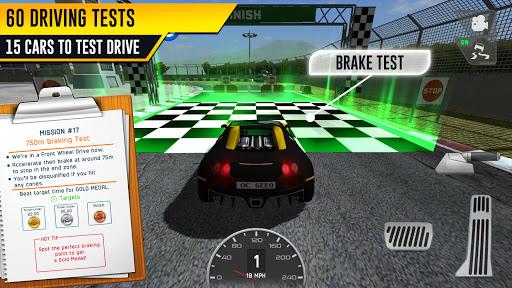 Race Driving License Test 2.1 screenshots 4