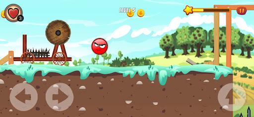 Code Triche Red Ball Adventure 1 (Astuce) APK MOD screenshots 5