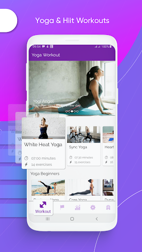 Yoga Workout - Yoga for Beginners - Daily Yoga screen 1