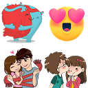 Stickers de amor 😍 para whatsapp