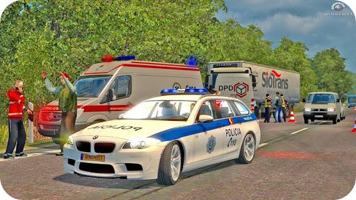 Spooky Stunt Crazy Police Parking 2020 0.1 screenshots 13