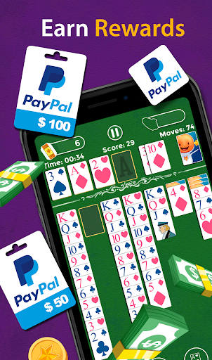 Solitaire - Make Free Money & Play the Card Game 1.8.8 Screenshots 4