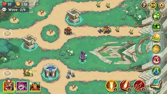 Empire Defender Strategy TD Offline Game Fantasy Apk Mod Download 3
