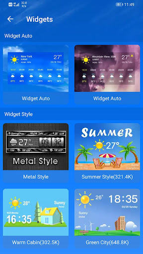 Weather Forecast 2.3.37 Screenshots 8