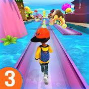 RUN RUN 3D 3 - Hyper Water Surfer Endless Race