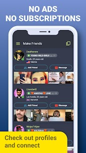 Galaxy – Chat Rooms: Meet New People Online & Date 4