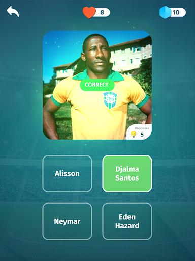 Football Quiz - Guess players, clubs, leagues 2.9 screenshots 10