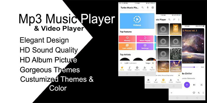 Music Player Turbo – Mp3 Music & Video Player