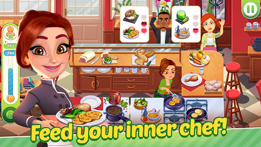 Delicious World - Cooking Restaurant Game 1.21.2 screenshots 1
