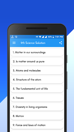 Class 9 NCERT Science Solution android2mod screenshots 1