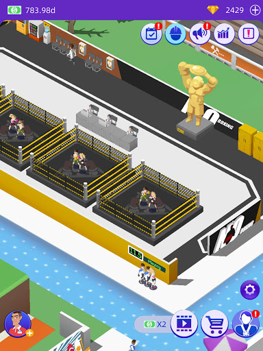 Idle GYM Sports - Fitness Workout Simulator Game 1.39 screenshots 15
