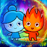 Red Boy Blue Girl : Amazing Adventure Game game apk icon