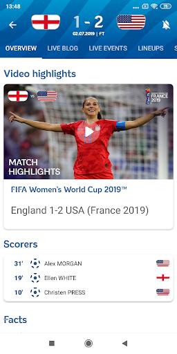 FIFA - Tournaments, Soccer News & Live Scores  Screenshots 2
