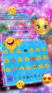 Fancy Galaxy Keyboard Theme 10001005 Mod APK Latest Version 3