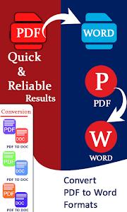 PDF to Word Document Converter: Convert PDF to Doc 1.3