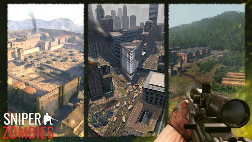 Sniper Zombies: Offline Shooting Games 3D screenshots 22