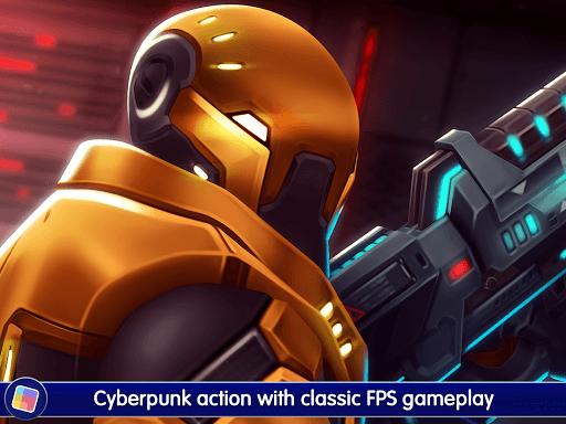 Neon Shadow: Cyberpunk 3D First Person Shooter 1.40.166 screenshots 6