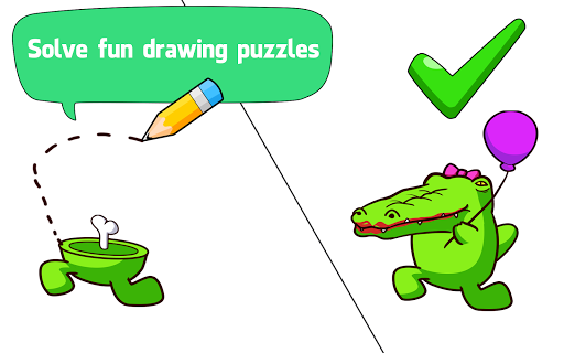 Draw One Part - Impostor Puzzle Brain Game apkpoly screenshots 10
