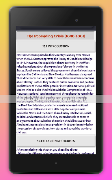 History Of United States: USA History screenshot 8