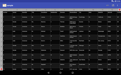 CSV Editor  Screenshots 15